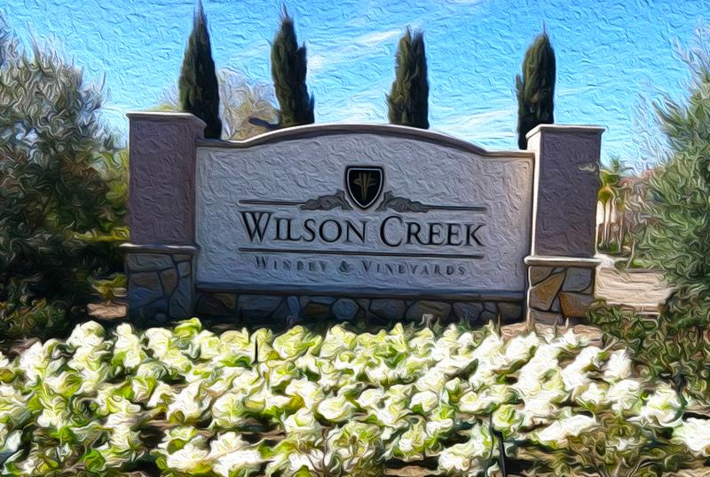 Wilson Creek Sign Art in Oil