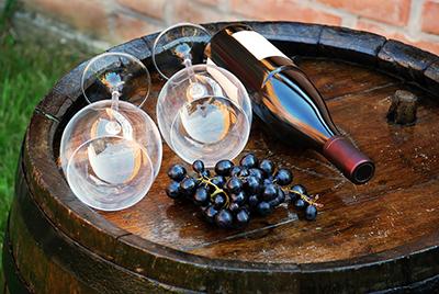 Wine Barrel Art picture