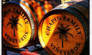 Chapin barrels on Porch