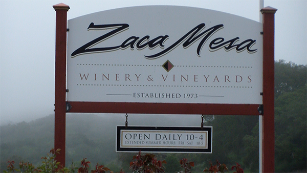 Zaca Mesa Sign