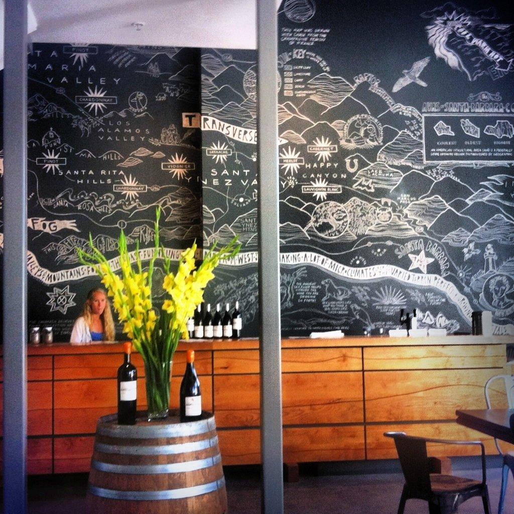 AVA Santa Barbara Elkpen Mural Central Coast Wine Country