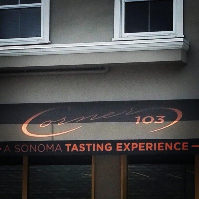 Corner 103 in Sonoma