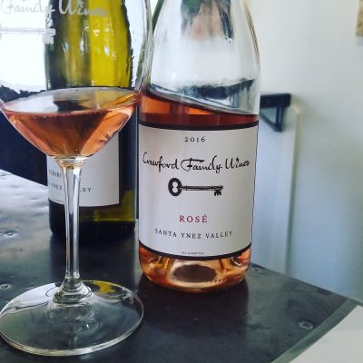 Crawford Family Wines 2016 Rosé from the Santa Ynez Valley