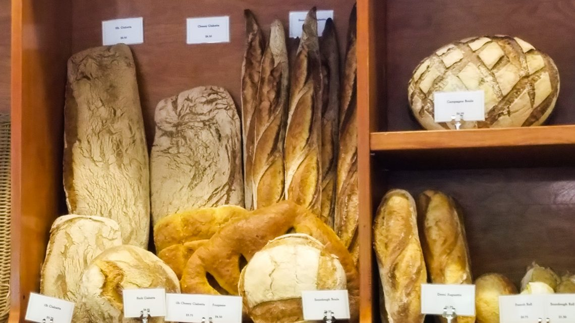 Fresh Bread Bouchon Bakery Yountville