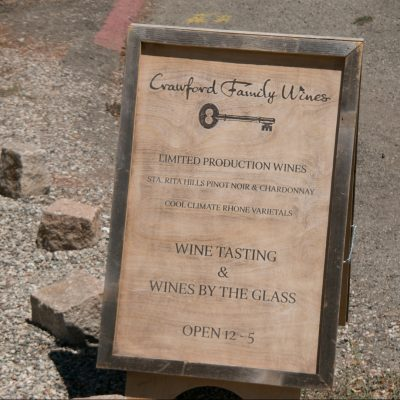 Crawford Family Wines Los Olivos Central Coast Wine Country Santa Barbara County