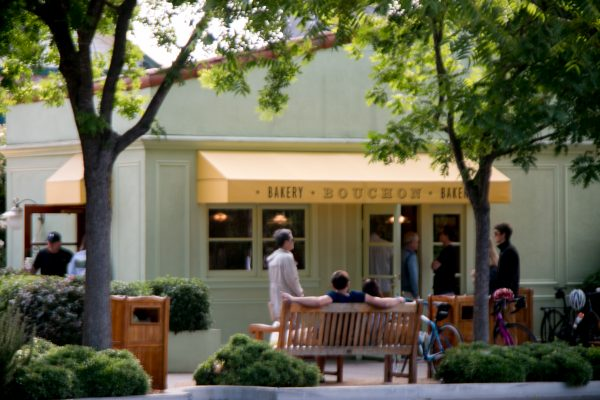 Bouchon Bakery in the morning Yountville