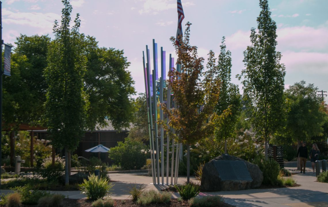 New Sculpture by Gordon Huether in Yountville