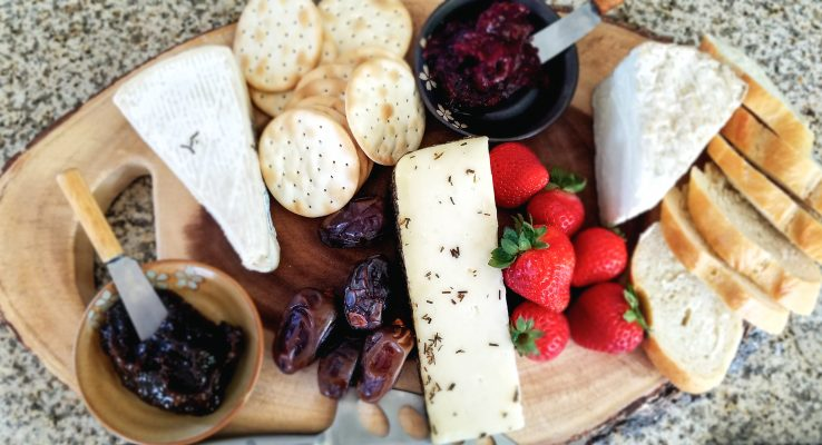 Cheese plate for Grenache pairing