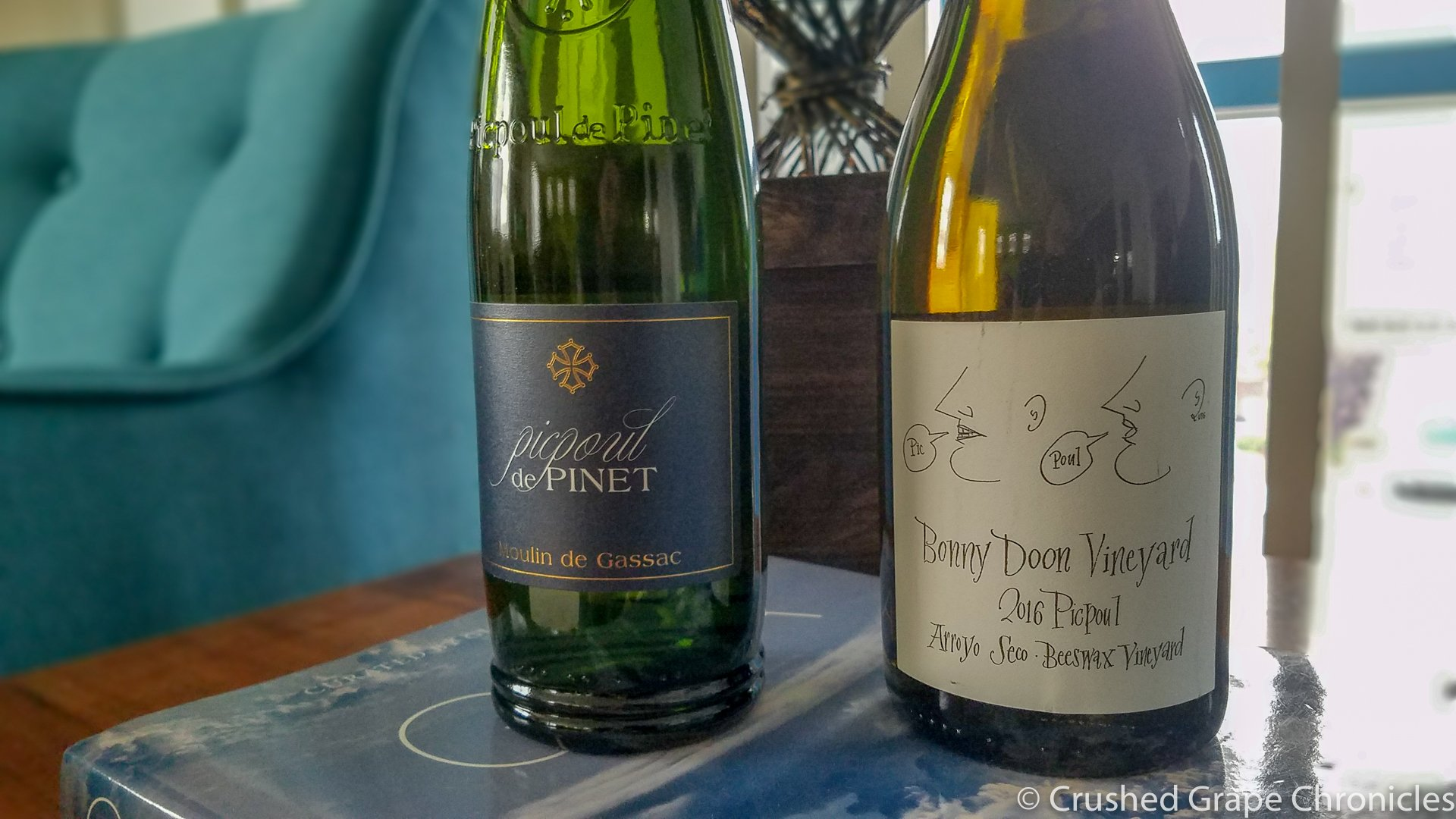 Picpoul de Pinet and Bonny Doon Vineyard Picpoul
