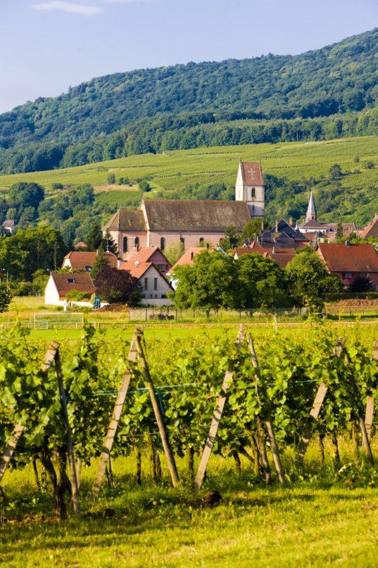 Orschwihr, Alsace, France