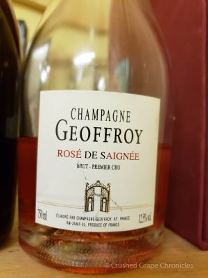NV Geoffroy Rosé Saignée of Pinot Noir Grower Champagne
