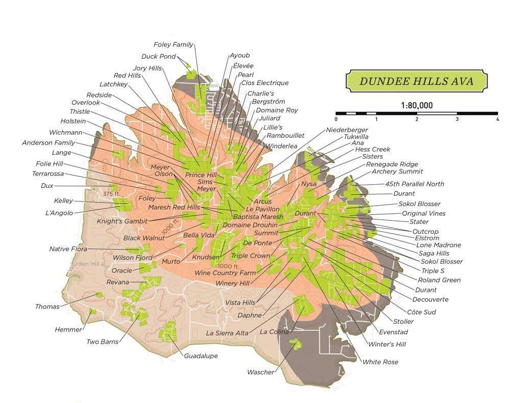 Dundee Hills AVA
