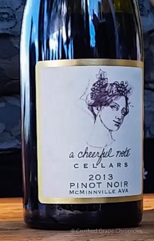 A Cheerful Note Cellars, 2013 Pinot Noir