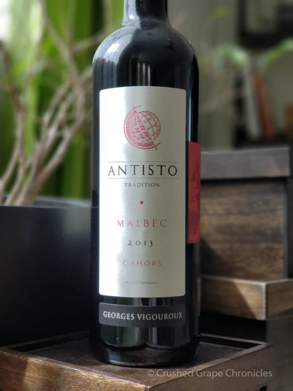 Antisto 2013 Malbec from Cahors