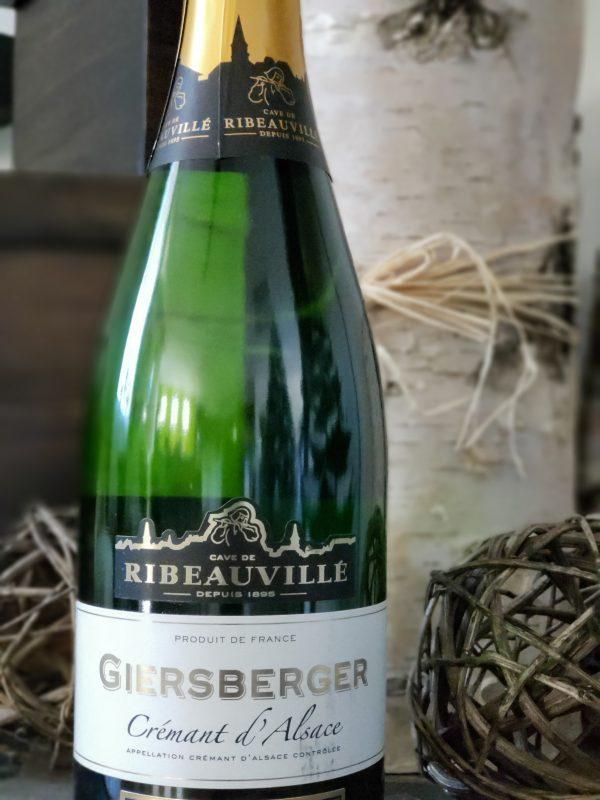 Cave de Ribeauville Giersberger Crémant d'Alsace Brut