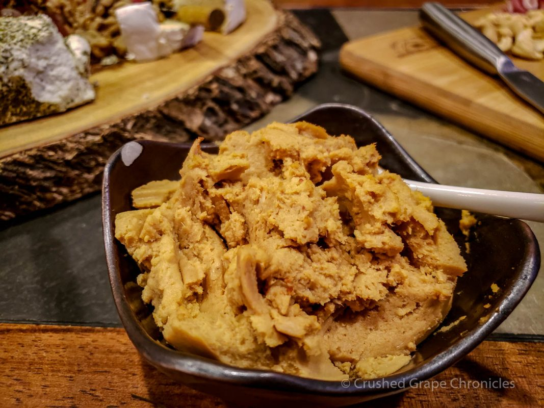 Lobster pate with cognac