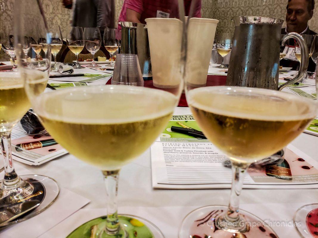 Gloria Ferrer sparkling wines Sonoma Brut and Blanc de Noirs