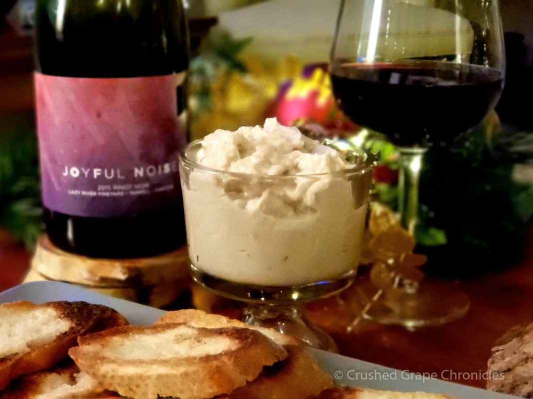 Joyful Noise 2015 Pinot Noir with Tuna