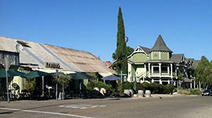 Los Olivos Central Coast Wine Country
