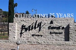 Baily Vineyards Sign