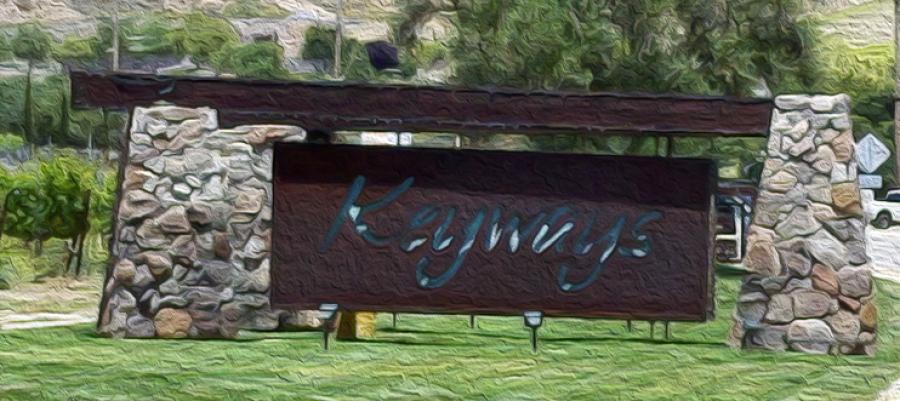 Keyways Sign