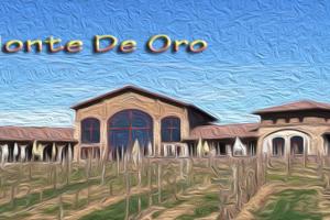 Monte De Oro depcicted in oil
