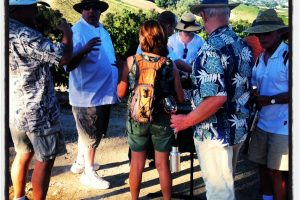 Tablas Creek Wine Walk with Chef Jeff Scott 2013