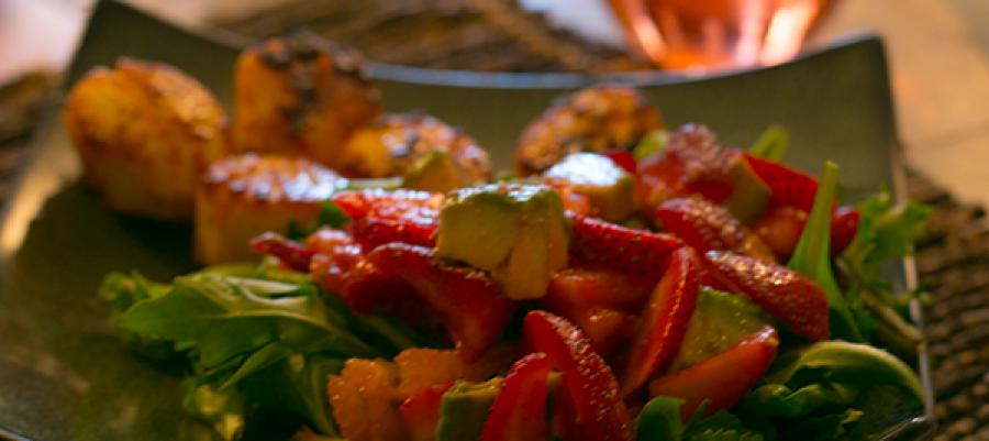 Strawberry Avocado Citrus Salad