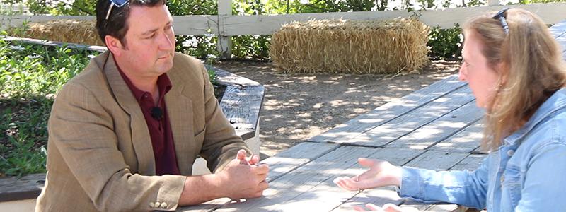 Michael Larner at Larner Vineyard