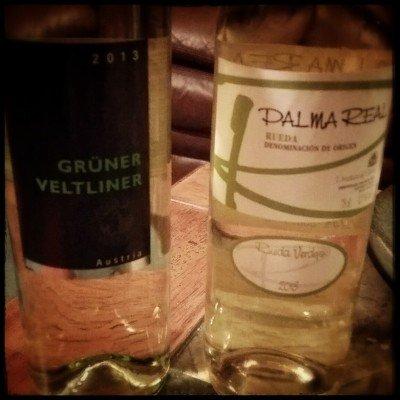 Gruner Veltliner and Rueda Verdejo
