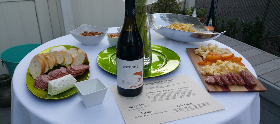 Wine with friends – A California tasting & pairing