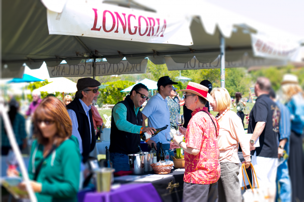 Rick Longoria at the Santa Barbara Vintners Spring Grand Tasting