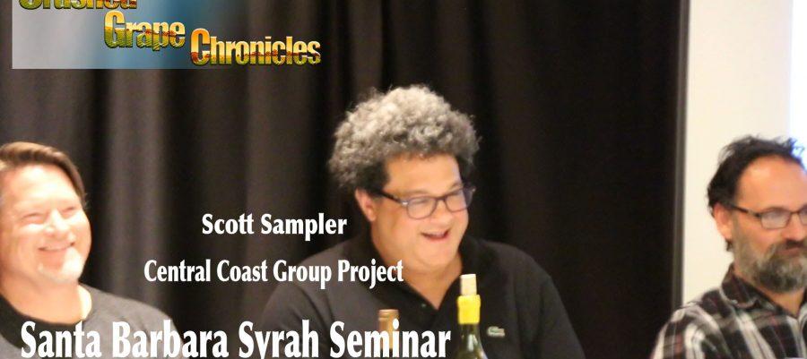 Scott Sampler on his White Hawk Syrah