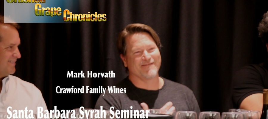 Winemaker, Mark Horvath speaks about his Sta. Rita Hills Syrah
