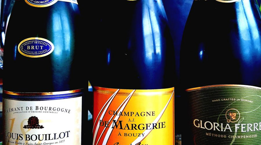 Sparkling wine or Champagne
