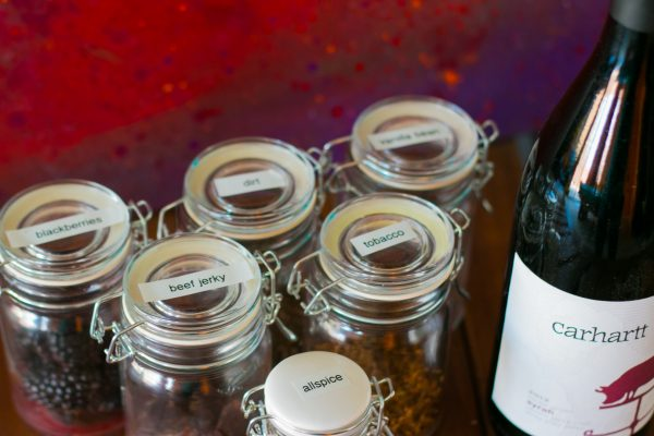 Carhartt Syrah & Scent Jars and Art form ACT2ART and Crushed Grape Chronicles Events