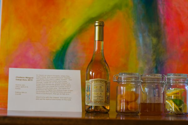 Tokaji Bottle & Scent Jars and Art form ACT2ART and Crushed Grape Chronicles Events