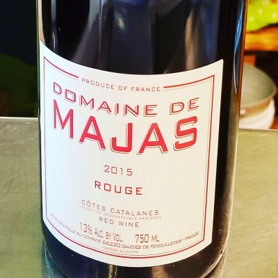Natural Red Wine from France