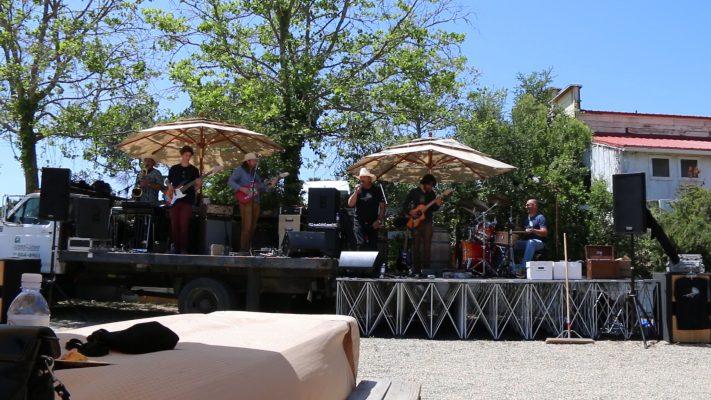 Music was by Ruben Lee Dalton Band