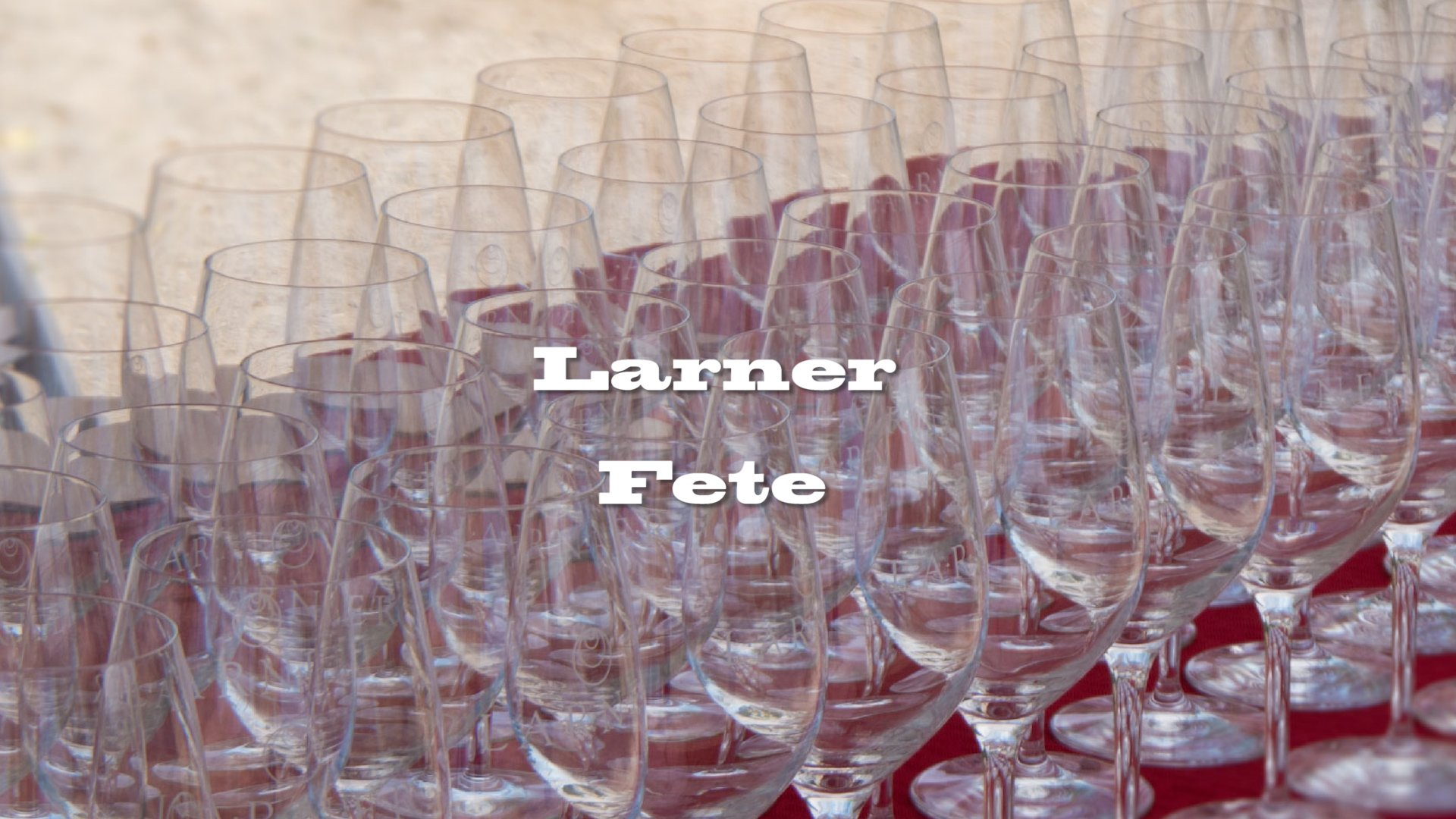 Larner fete, how it came to be