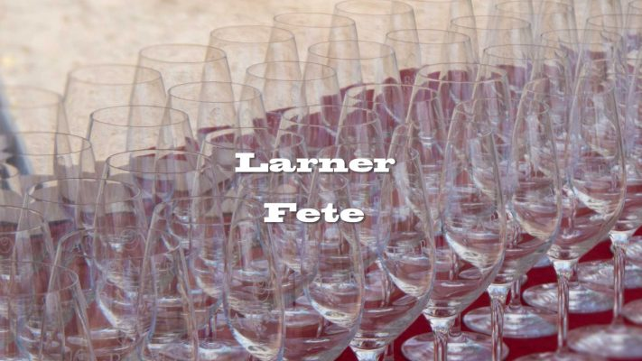 larner vineyards fete