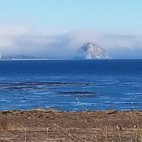Morro Bay and Morro Rock on The Pacific Coast Highway