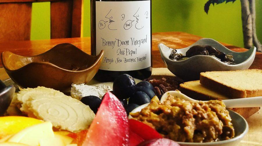 Picpoul Blanc Pairing Bonny Doon 2016 Arroyo Seco Beeswax Vineyard