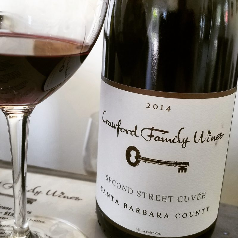 Crawford Family Wines Second Street Cuvee Los Olivos Santa Barbara County