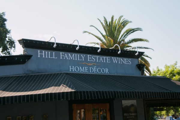 Yountville CA Hill Family Estate Wines