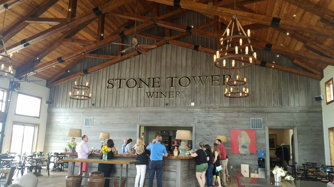 Stone Tower Winery in Virginia