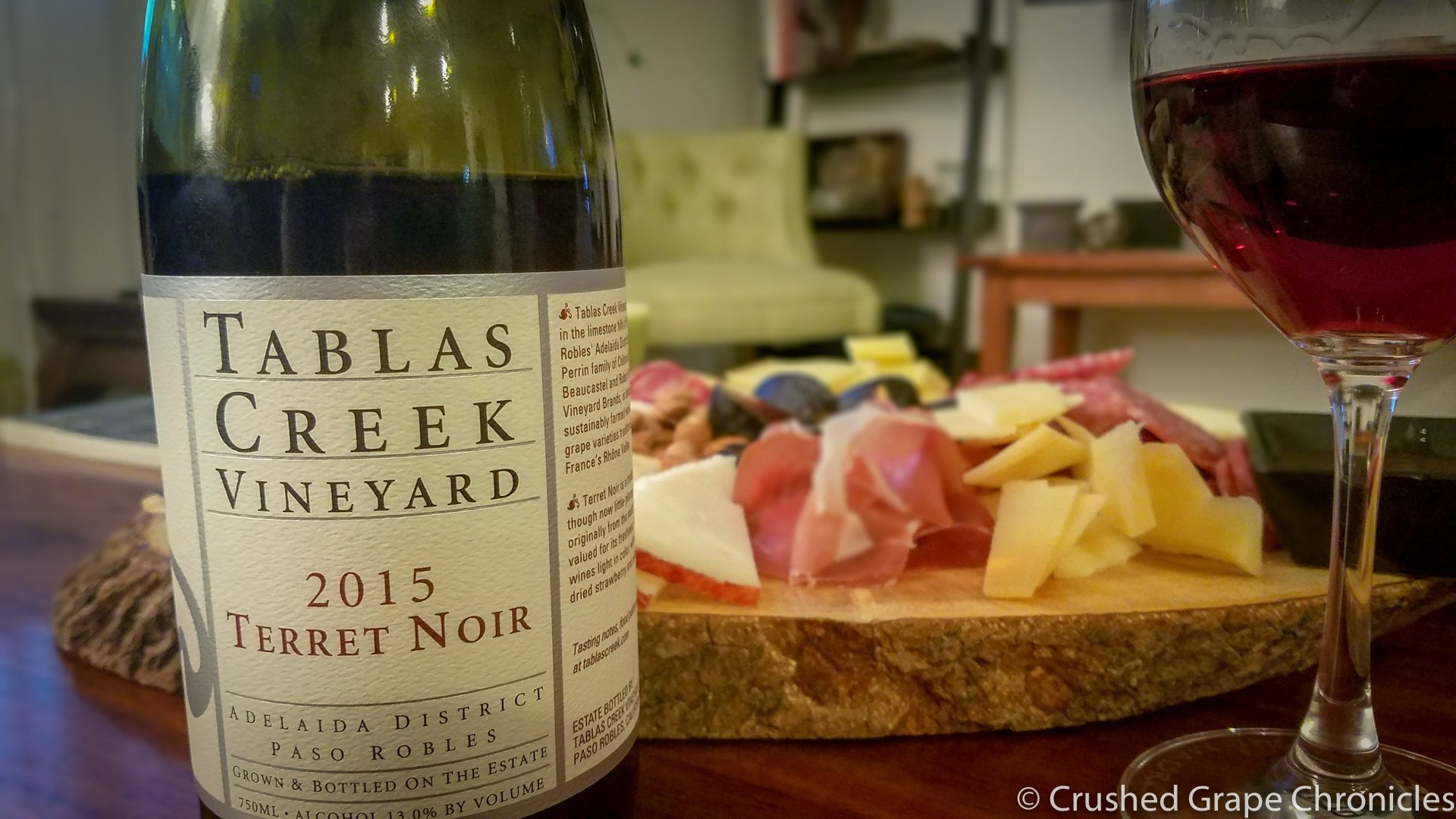 Wine & Cheese Pairing with Tablas Creek Terret Noir 2105
