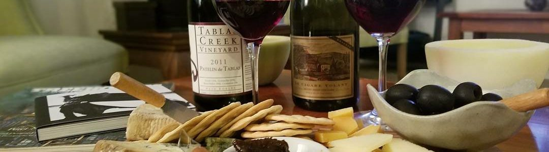 2011 Pateline de Tablas & 2013 Le Cigare Volant Rhône Blends with cheese pairings