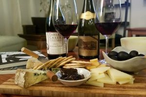 2011 Pateline de Tablas & 2013 Le Cigare Volant Rhône Blends with cheese pairings