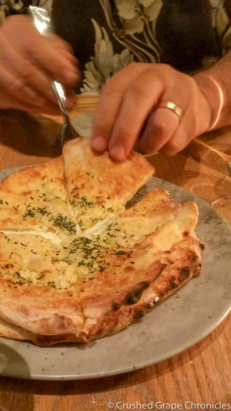 Recco Style Garlic Bread Masso Osteria